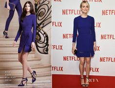 Taylor Schilling In Elie Saab - 'Netflix' Launch Party - Red Carpet Fashion Awards