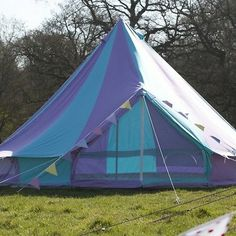 4m Harlequin Bell Tent With Zipped in Ground Sheet yurt, teepee, tipi £449