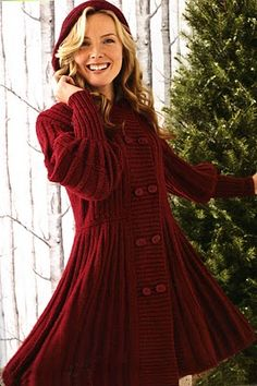 Cascade Yarns: Warm Knits, Cool Gifts - Skating Coat - by Sally Melville