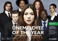 """Unemployee of the Year"" - Benetton  Unhate 2012 - AD adgency Fabrica, Treviso"