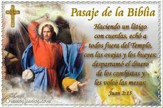 Vidas Santas: Santo Evangelio según san Juan 2:15