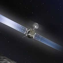 Where Is Rosetta? This interactive tool shows where the European Space Agency's comet-chasing Rosetta spacecraft is on any given day – from launch in 2004 to the end of its nominal mission in Rosetta Spacecraft, Our Solar System, Space Crafts, Rockets, Astronomy, Fun Stuff, Product Launch, Earth, Sky