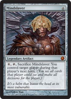 Mindslaver-x1-Magic-the-Gathering-1x-Scars-of-Mirrodin-mtg-game-card-mythic-rare