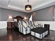 Wouldn't you want your bedroom to look like this. Burlington Ontario, Master Bedroom, Couch, Furniture, Home Decor, Master Suite, Homemade Home Decor, Sofa, Master Bedrooms