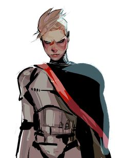 shacklefunk:  reminder: gwendoline christie is 6′3, making phasma Big a tall, mean, armed woman ? phasma was made w me in mind