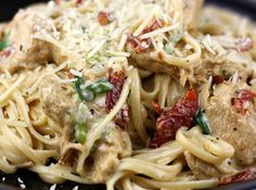 Rajun Cajun Chicken w/Pasta #justapinchrecipes