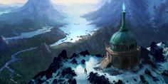 Temple of the North by jjpeabody.deviantart.com on @DeviantArt