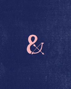 Ampersand by Juan Chavarria Jr., via Behance
