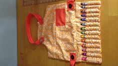 So cute!!! In starting on homemade Christmas gifts for little cousins and friends' babies... Craft apron for a toddler!