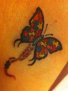 autisim butterfly