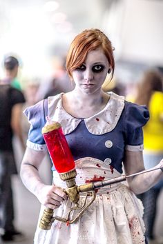 Little Sister Cosplay from Bioshock | MCEC 2015, Photo by Lorenzo So