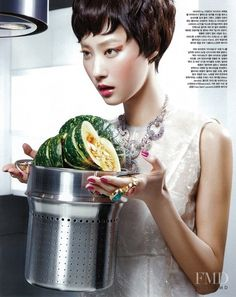 Organic Kitchen in Vogue Korea with Ji Hye Park - (ID:7141) - Fashion  Editorial | Magazines | The FMD