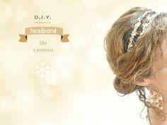headband-princess - tuto sur le site de Vanessa Pouzet, trop chouette !!