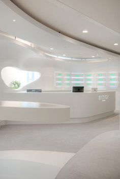 Futuristic Decors Showcased by New Syzygy Lab Office