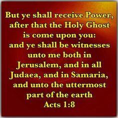 How has the Holy Ghost helped you witness to your friends? If you have not allowed the Holy Ghost to use you in this way, pray for boldness and courage to be a witness.   Experience the benefits of the Holy Ghost:  Isaiah 28:12; Acts 1:8; Romans 8:26      Additional reading:  Luke 12:12; John 6:63; John 14:26; John 16:13; Acts 4:31-33; Romans 5:5; Romans 8:11-17; 2 Corinthians 3:6; 2 Corinthians 3:17; Ephesians 1:13-14.