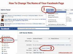 How To Change The Name of Your Facebook Business Page