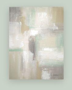 Pintura acrílica arte abstracto Original sobre lienzo