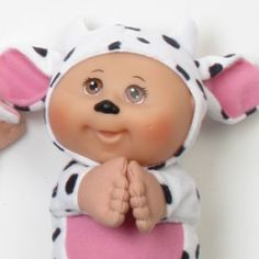 CPK cow cutie Xavier Roberts, Doll Party, Cabbages, Cabbage Patch Kids, Toy Store, Little People, Cows, To My Daughter, Cartoons