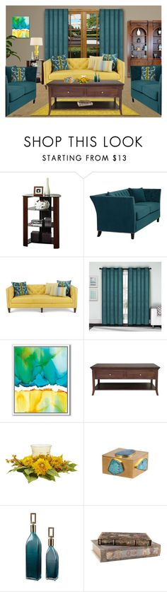"""""""IT'S A BEAUTIFUL MORNING"""" by arjanadesign ❤ liked on Polyvore featuring interior, interiors, interior design, home, home decor, interior decorating, Massoud, VCNY, West Elm and Threshold"""