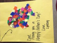 Cute Fathers Day card craft!