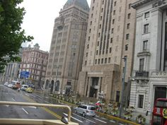 Grand colonial style buildings at The Bund.