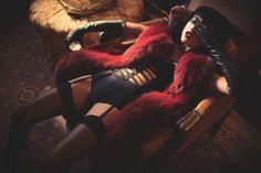 Natalia Kills Seduces in Lingerie for XOXO The Mag's Dec/Jan Issue