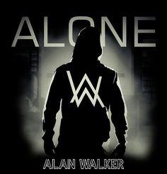 'Dont BE Alone Alan Walker Is Here' Poster by gideonrhoda Dj Alan Walker, Allen Walker, Music Like, Dj Music, Walker Join, Marshmello Wallpapers, Arte Lowrider, Alone Art, Joker Images