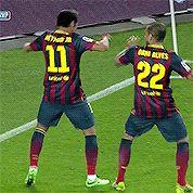 Neymar and dani alves vic dance Neymar Jr, Neymar Goal, Barcelona Football, Fc Barcelona, Team Player, Football Players, Football Gif, Lionel Messi, Daniel Alves
