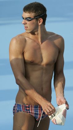 oh Micheal Phelps, you are mine