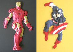 Paper Sculptor Captain America - Google Search