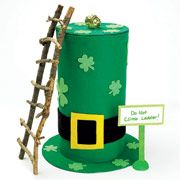 leprechaun trap....we made this trap 2 years ago.