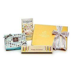 GODIVA BIRTHDAY BLOWOUT CHOCOLATE GIFT SET 72 Compare Elsewhere At 82 Shipping
