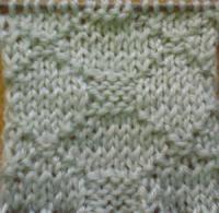 Вязание спицами узор платочная вязка №4032 схема