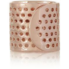 Jennifer Fisher Bandaid rose gold-plated ring