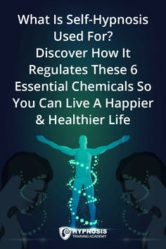 What is self hypnosis used for? Discover how it regulates healthy levels of these 6 essential chemicals so you can live a healthier & happier life. Subconscious Mind Power, Hypnosis Scripts, Learn Hypnosis, What Is Self, Hypnotized, Brain Science, Free Mind, Mind Over Matter, Magic Words