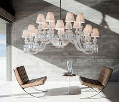 Baccarat – Ellipse. Chandelier.