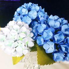 Paper Hydrangeas Tutorial