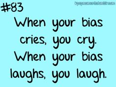 Definitely :') Kpop fans can relate
