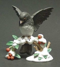 Lenox Garden Birds Dark Junco  - at Replacements, Ltd