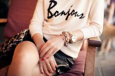 Bonjour :: Light knit