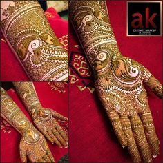 Henna Beautiful by Ash Kumar for one of our graduates at AK! Congratulations to…