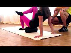 Blackroll Gesäßtraining zur Entspannung - YouTube