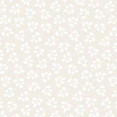 Moda Fabric Muslin Mates Sprigs White