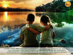 El día que empezamos a preocuparnos por el futuro es el día que dejamos atrás la infancia... #mindfulness