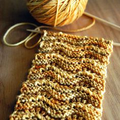 Modern meets classic in this charming and simple one‐skein scarf. Double‐sided, the ridges lend a rustic look that compliments and flatters.