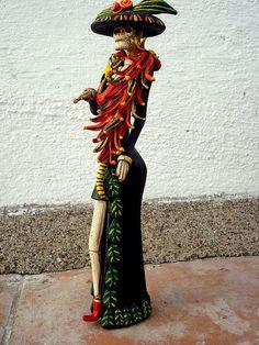 Miniatura Catrina Posadas |by Helena Nares