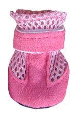 Small Dog Booties - Mini Meshies by Barko Booties - Pink