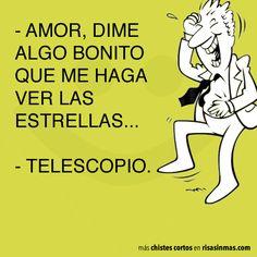 Chiste corto: amor #Spanish