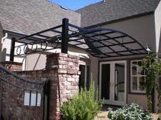 wrought iron awning design - Google Search