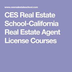 CES Real Estate School-California Real Estate Agent License Courses
